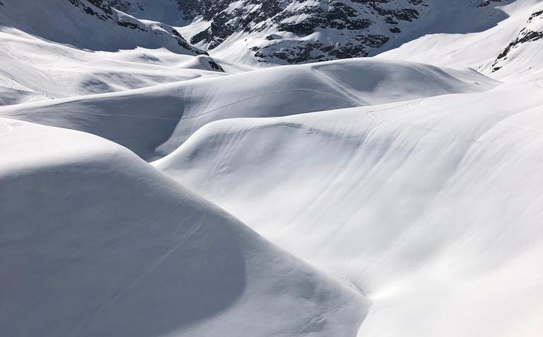 neige bonneval sur arc