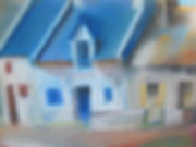 Arphand maison Bretagne pastel Art