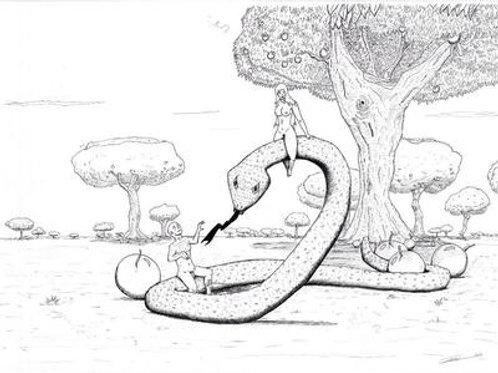 Eve, Adam et le serpen