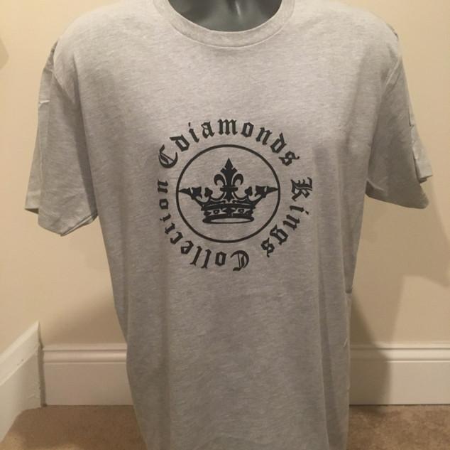 Kings Collection Grey & Black Tshirt