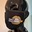 Thumbnail: CDiamonds Women Black and Gold Mask W/Nose Clip