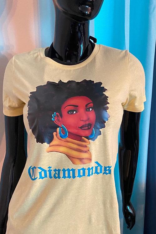 Women Afro Tee