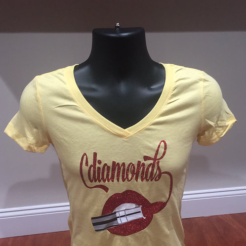 Yellow and Red New Signature T-shirt