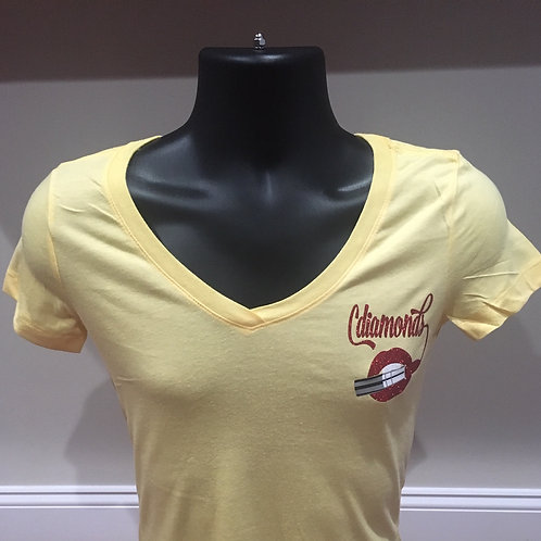 Yellow and Red Logo T-shirt