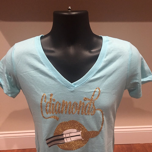 Blue and Gold New Signature T-shirt
