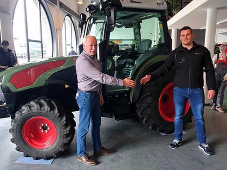 Hürlimann Traktoren, mein neuer Hauptsponsor!