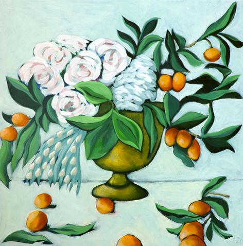 Centrepiece with Mandarins