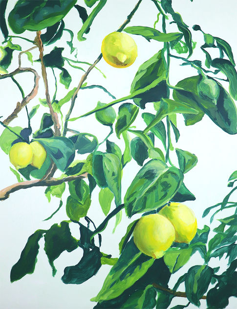 'Foliage I - Lemon Tree'