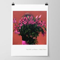 'Posy XVIII / Lush Blooms' Print by Abbey Merson