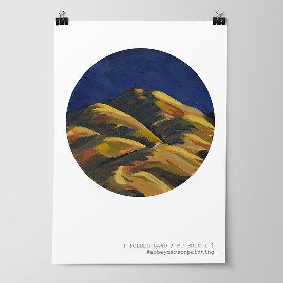 'Mt Erin I' Print by Abbey Merson