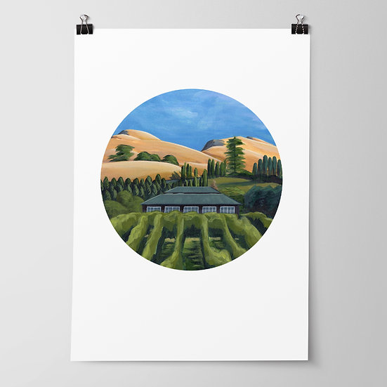 'Black Barn' Limited Edition Print by Abbey Merson