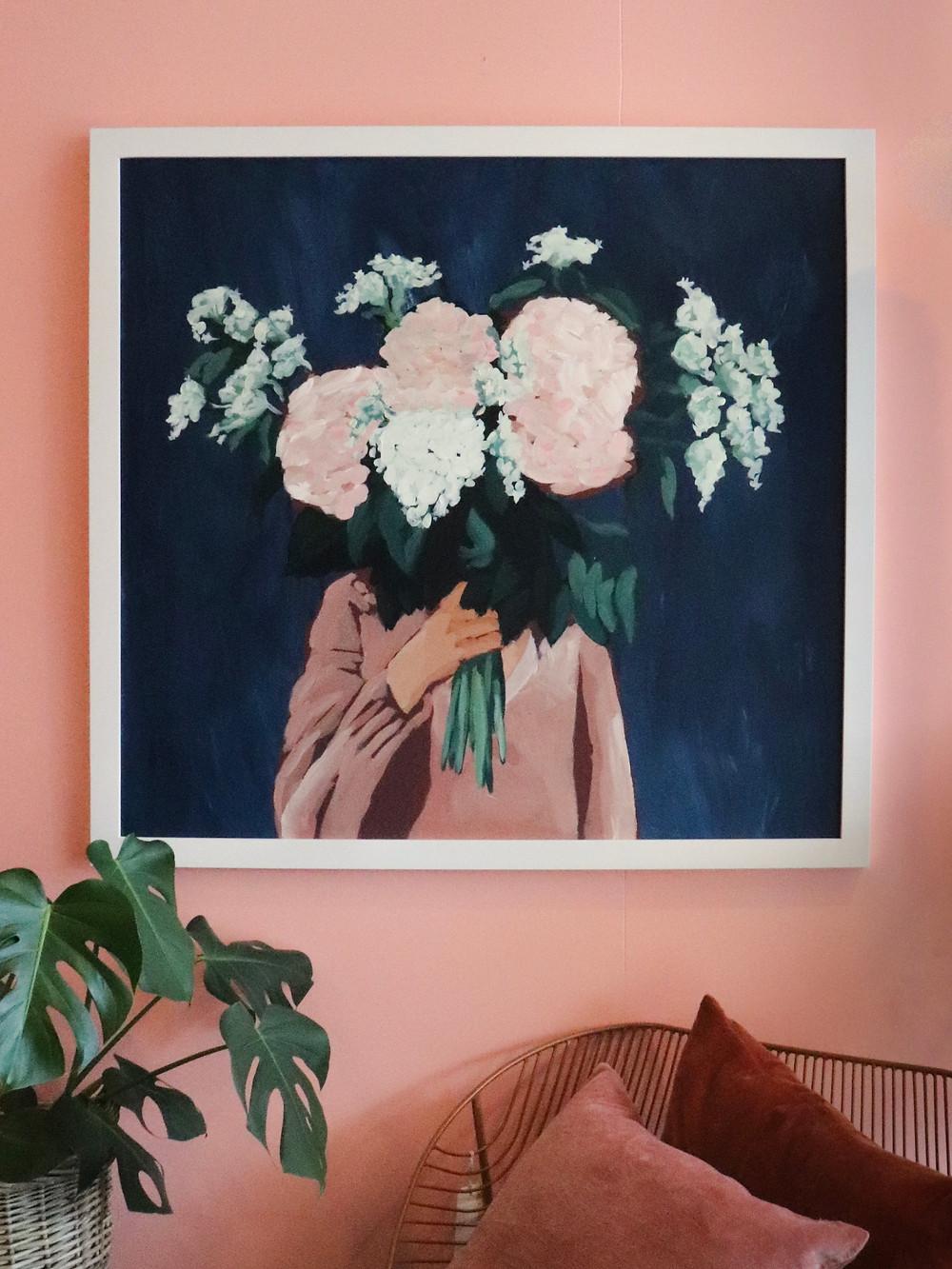 [ Posy III / Midnight Blooms ]
