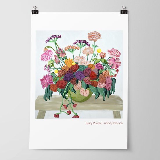 'Spicy Bunch' Print by Abbey Merson