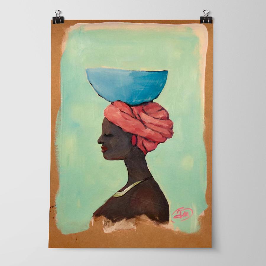 'Blue Bowl' by Abbey Merson