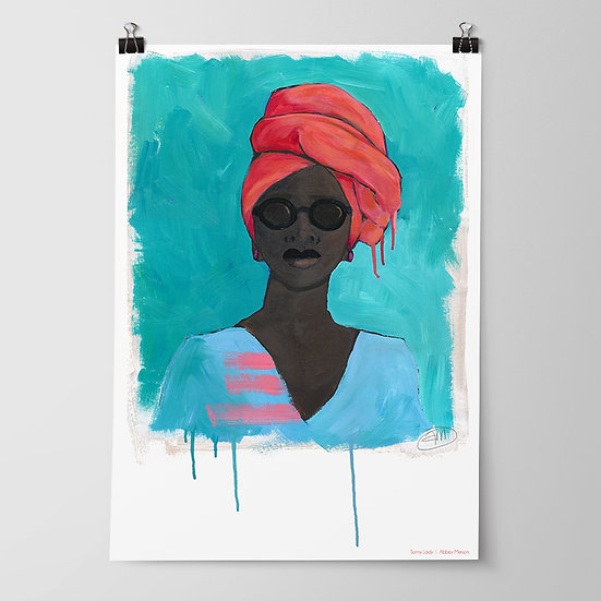 'Incognito' Print by Abbey Merson