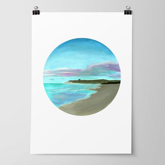 'Porangahau Beach' Limited Edition Print by Abbey Merson