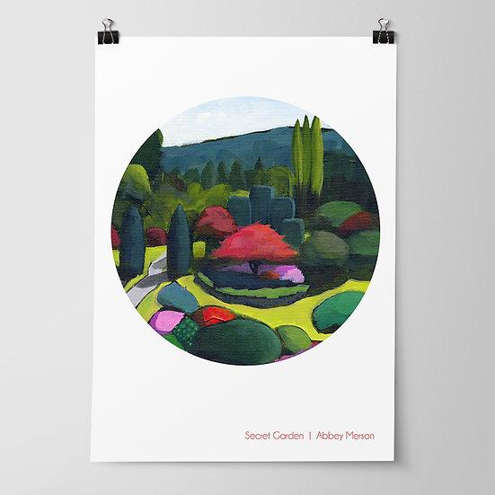 'Secret Garden' Print by Abbey Merson