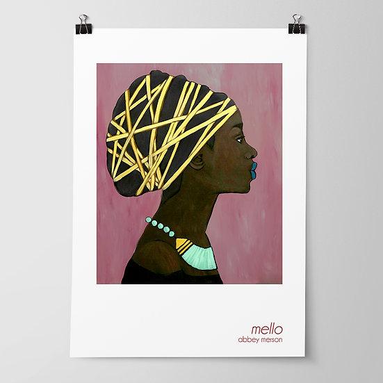 'Mello' Print by Abbey Merson
