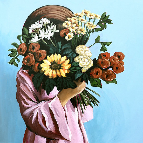 'Posy XV' Original Painting by Abbey Merson