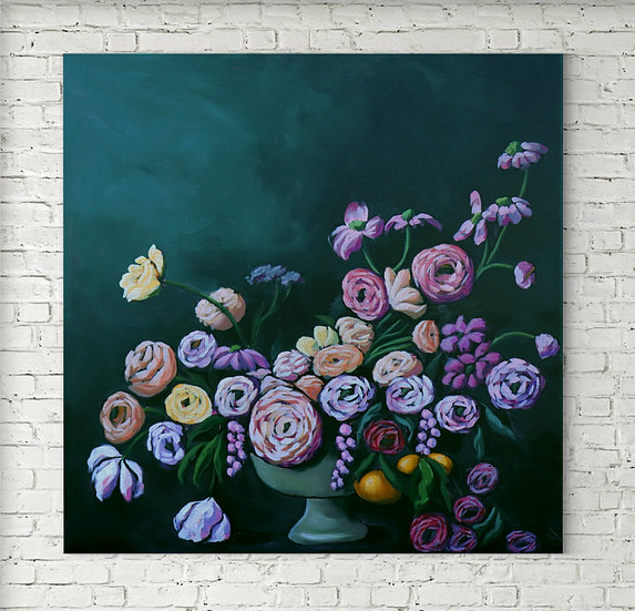 'Blooming Bunch' Original Painting by Abbey Merson