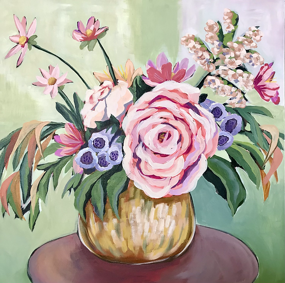 'Dreamy Blooms' by Abbey Merson