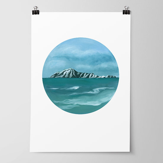 'Bare Island' Limited Edition Print by Abbey Merson