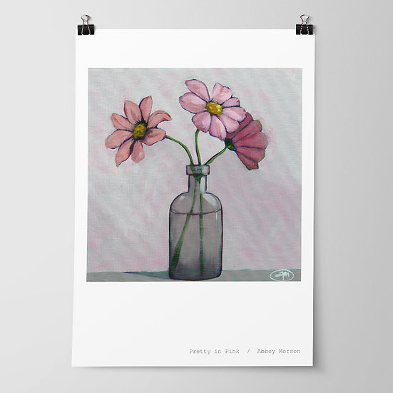 'Pretty in Pink' Print by Abbey Merson