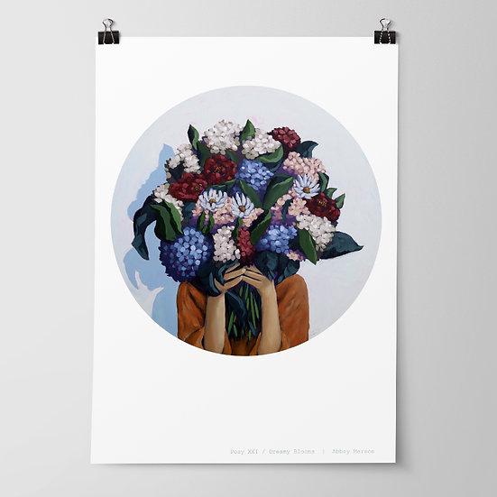 'Posy XXII / Dreamy Blooms' Print