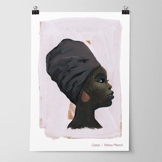 'Grace' Print by Abbey Merson