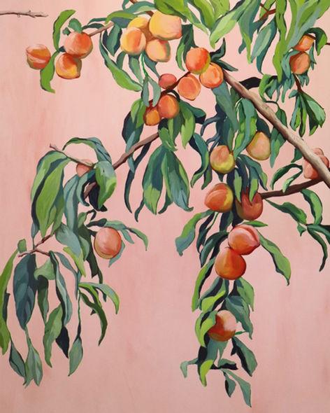 Foliage II / Peach Tree