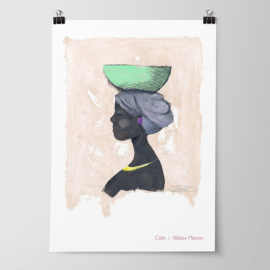 'Calm' Print by Abbey Merson