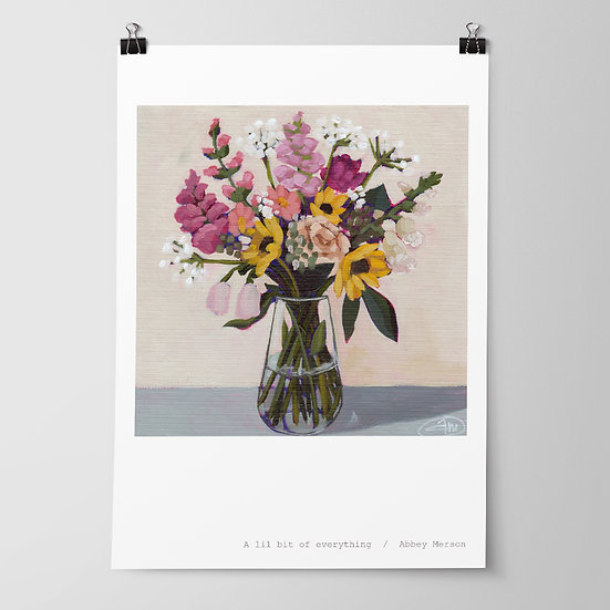 'A lil bit of everything' Print by Abbey Merson