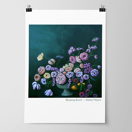 'Blooming Bunch' Print by Abbey Merson