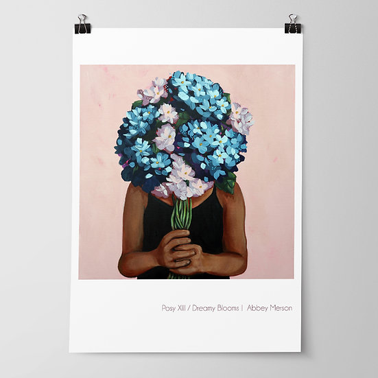 'Posy XIII / Dreamy Blooms' Print by Abbey Merson