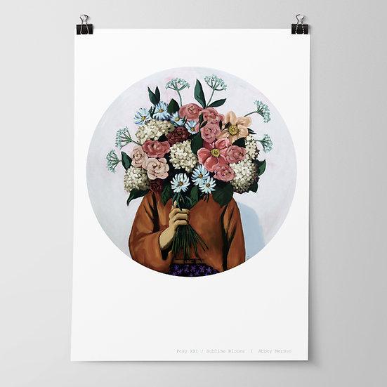 'Posy XXI / Sublime Blooms' Print