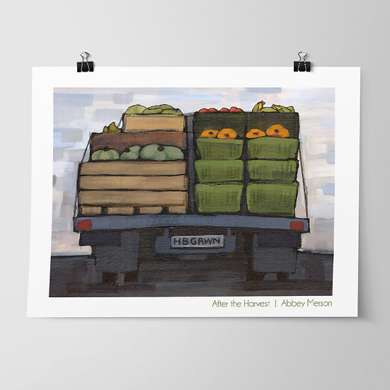 'After the Harvest' Print by Abbey Merson