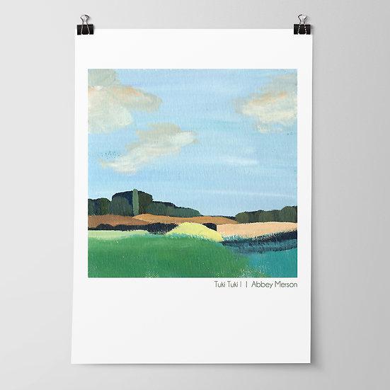 'Tuki Tuki I' Print by Abbey Merson