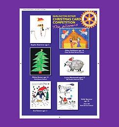 Christmas Card Winners!
