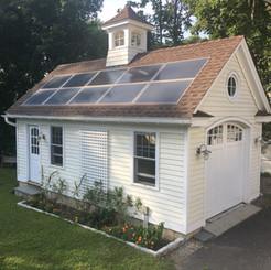 Solar Garage In Westport, CT