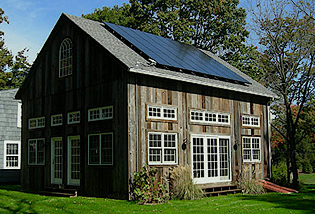 Solar Powered Barn
