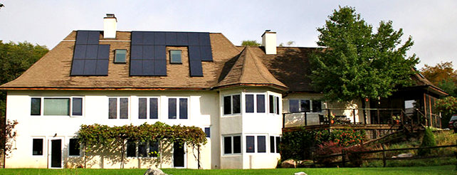 Solar Powered French Country Home