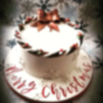 Christmas cakes from Kreative Kakes in S