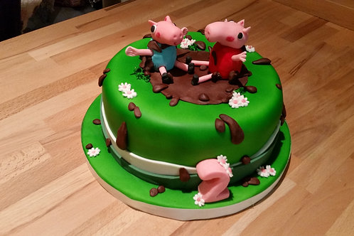 children's TV character cake