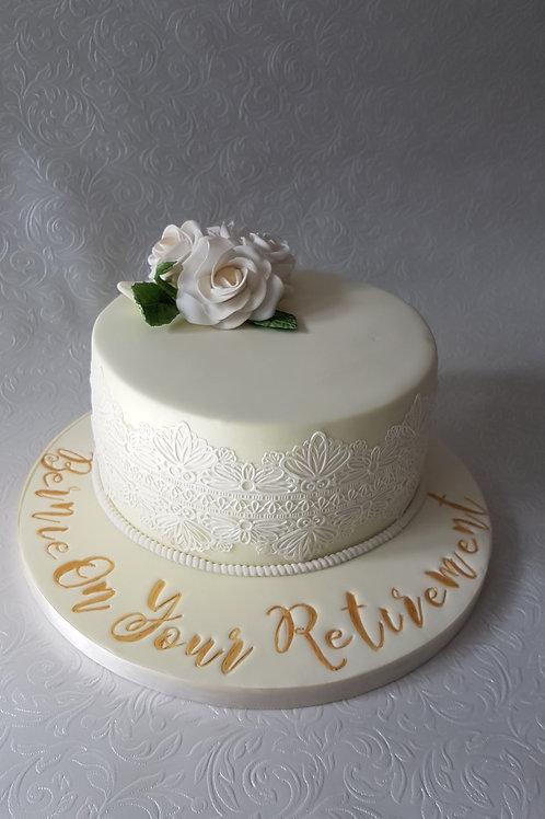 Retirement/celebration cake