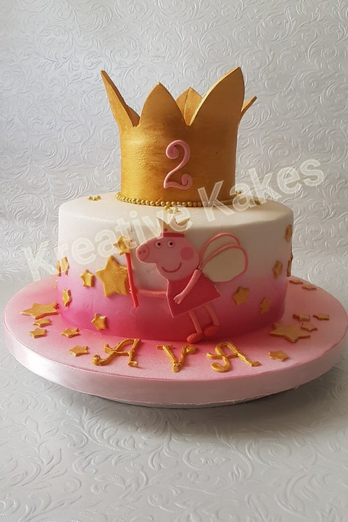 Children's character birthday cake