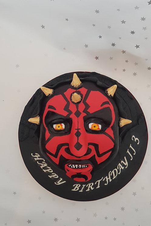 Super Villain Cake