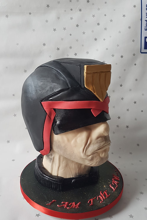 Sculpted character head cake