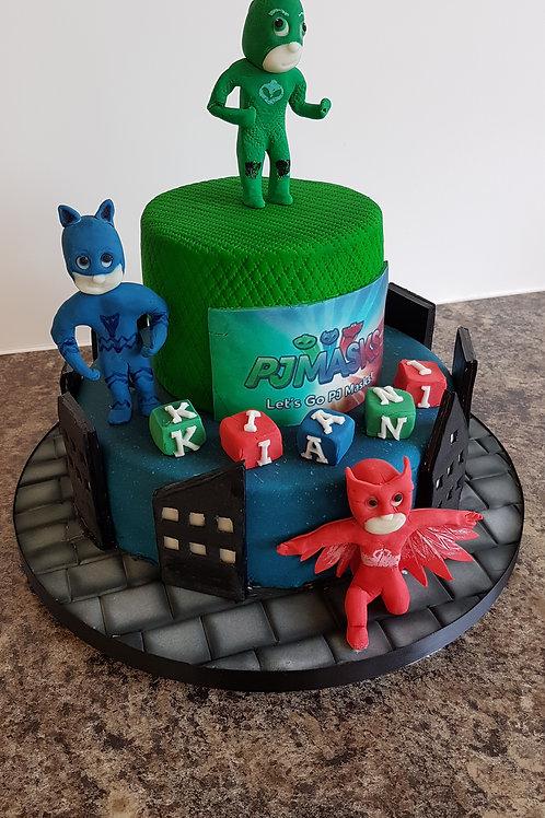 Children's character themed cake