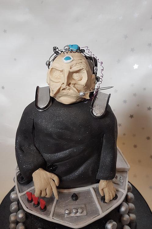 sci fi themed villain cake