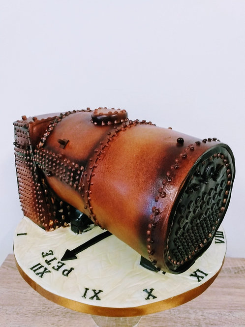 Steam Engine Boiler cake